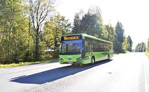 Linja-auto-Kankaalle