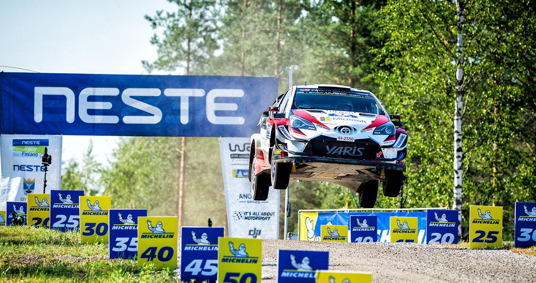 Neste Rally Finland 2019 Yaris Toyota