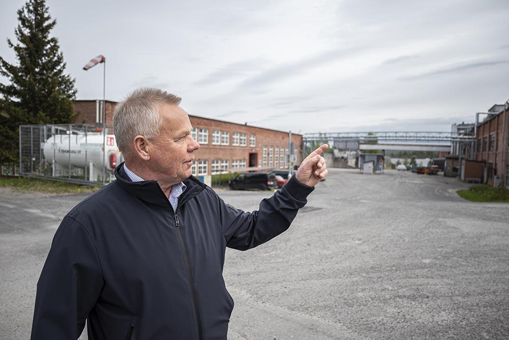 Säynätsalon teollisuusalueella on tilaa isommillekin yrityksille
