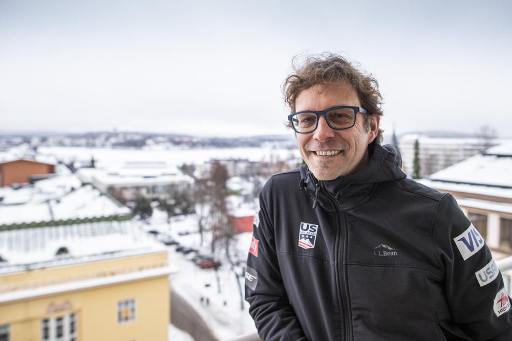 On air from Jyväskylä– NBC:n kommentaattorina Suomessa