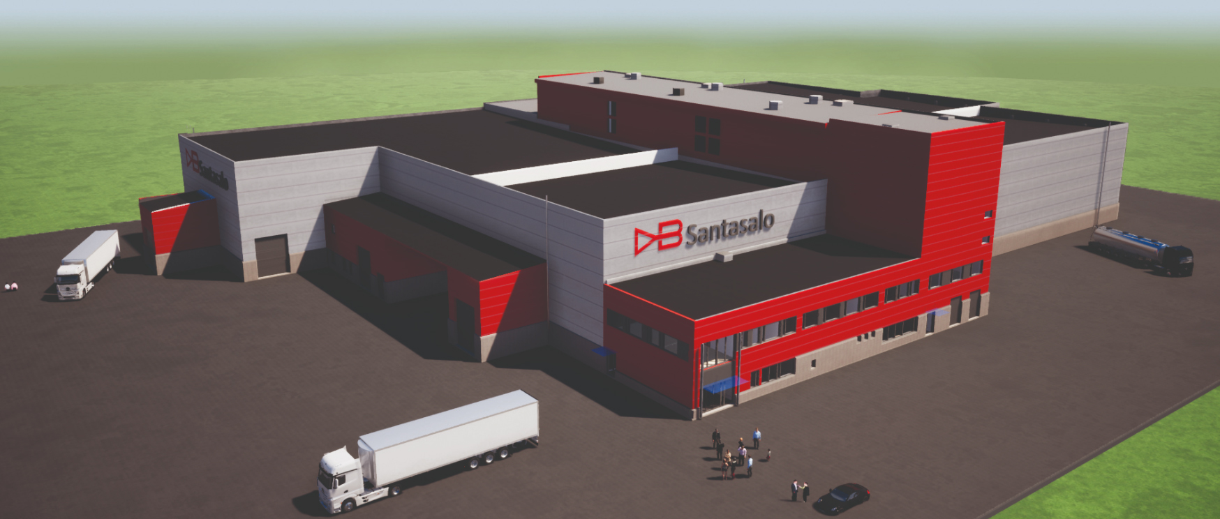 Jykia rakennuttaa David Brown Santasalolle uuden tuotantolaitoksen Jyväskylän Eteläporttiin