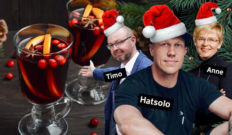 Business Jyväskylän Virtuaalinen Jouluglögi