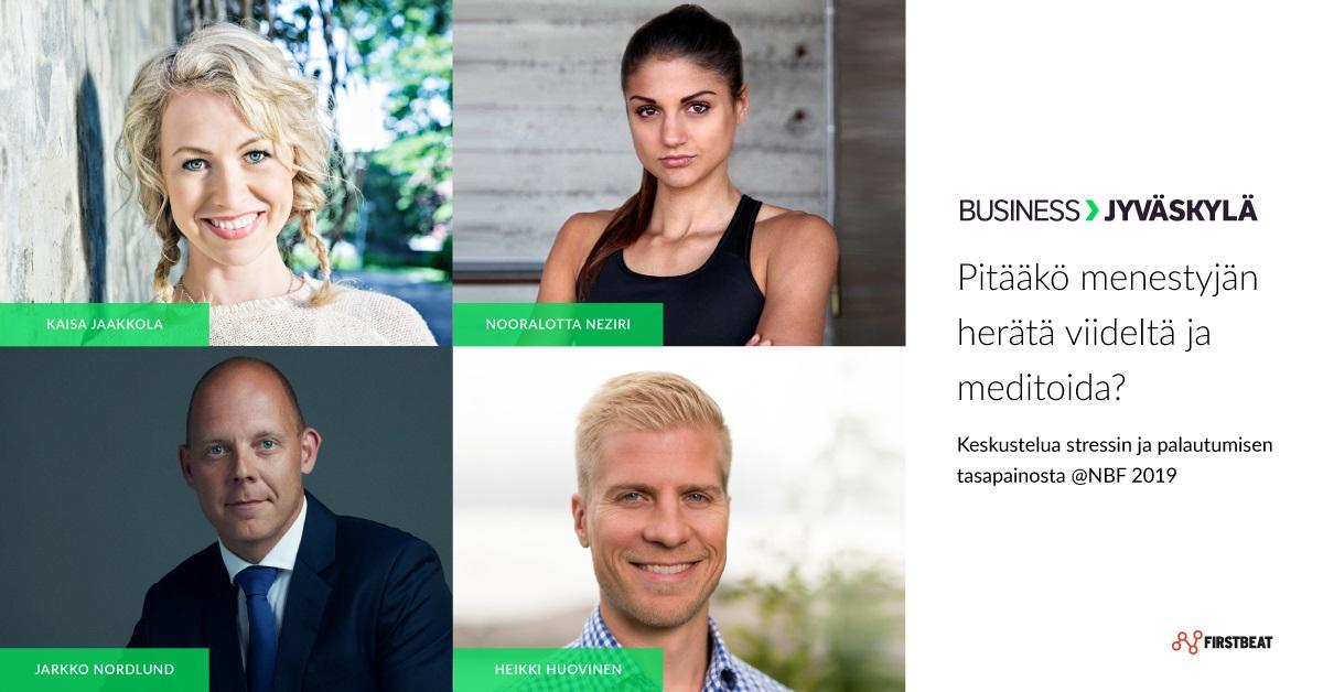 Lounastilaisuus - Nordic Business Forum