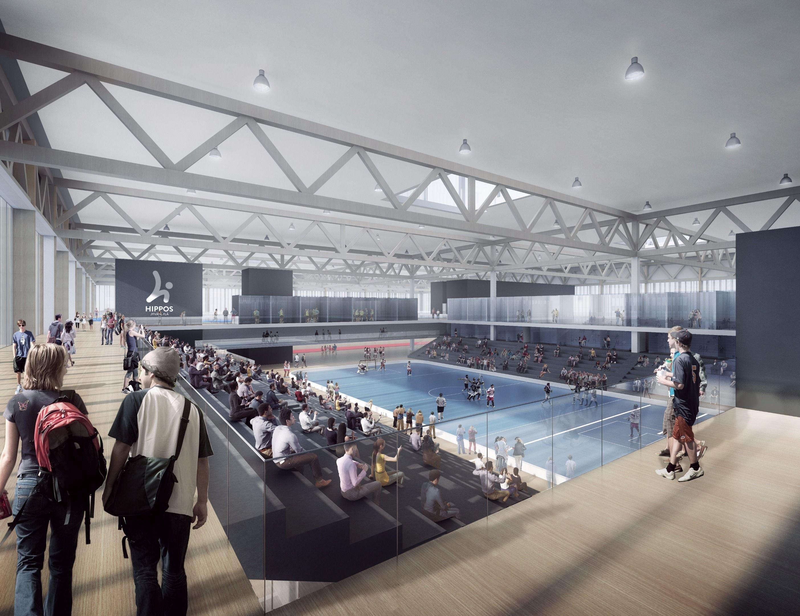 Olympiakomitea nosti Hippos2020-hankkeen tärkeimpien liikuntapaikkahankkeiden kärkijoukkoon