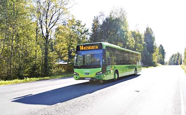 Paikallisliikenne käynnistyy Jyväskylän Kankaalle kesällä 2020