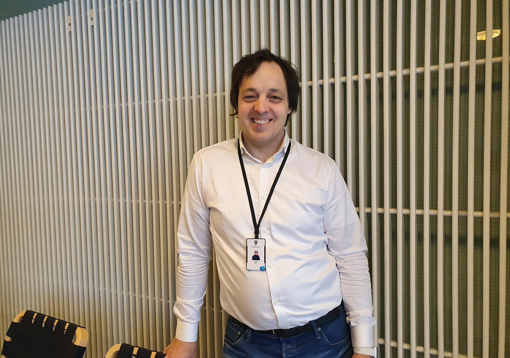 Timo Harju aloitti Business Jyväskylässä projektipäällikkönä