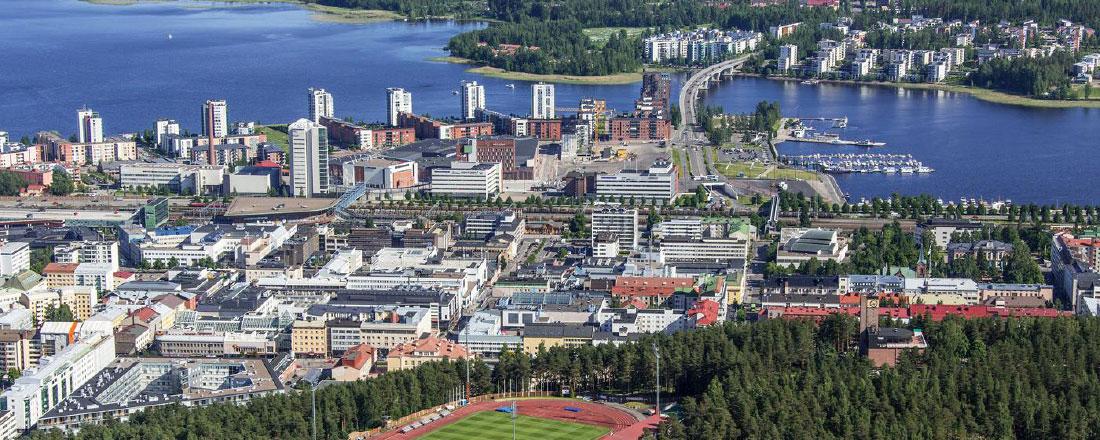 Miksi sijoittua Jyväskylään?#1: Kasvualue tukee yrityksesi menestystä