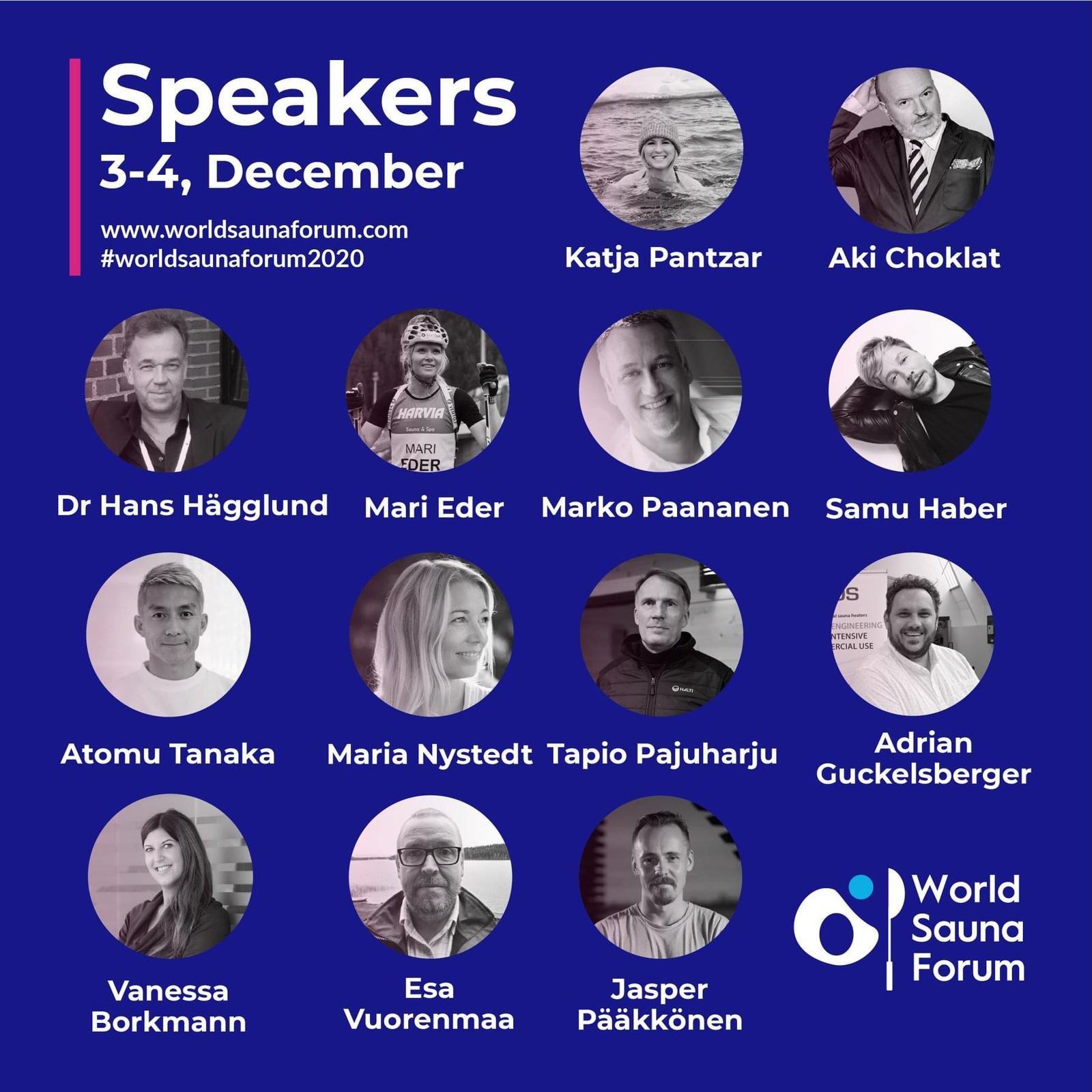 Sauna from Finland - World Sauna Forum 2020