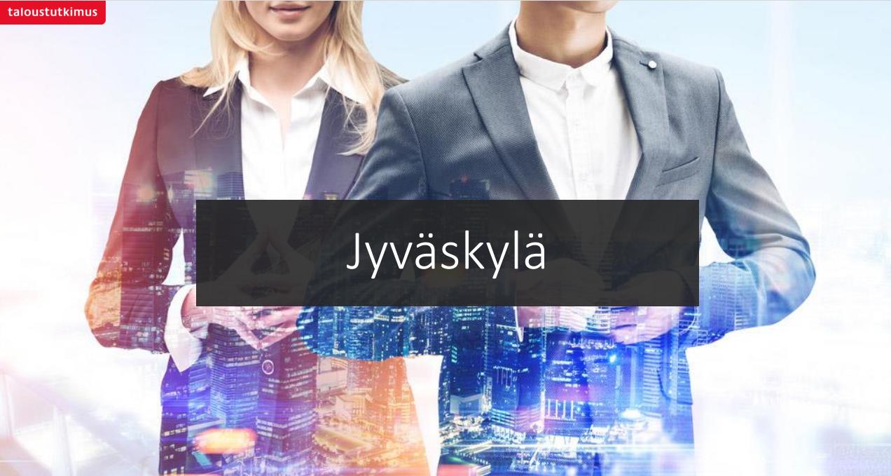 Kuntien imago 2020 tutkimus: Jyväskylän elinkeinoelämän imago parantunut tasaisesti